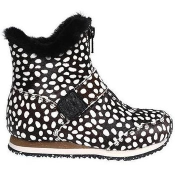 Schoenen Kinderen Laarzen Woden Kids Odina Zipper Animal Boots Beige/taupe