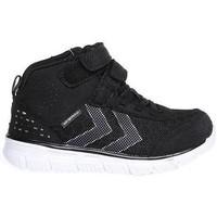 Schoenen Kinderen Lage sneakers Hummel Jr. Jongens 28-40 Crosslite Dot Waterproof Zwart