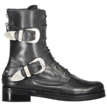 Schoenen Dames Laarzen Toral 10725 cashemir negro Zwart