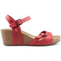 Schoenen Dames Sandalen / Open schoenen Interbios W Sandaal comfortabele anatomische vrouw RED