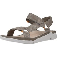 Schoenen Dames Sandalen / Open schoenen Clarks TRI SPORTY Grijs