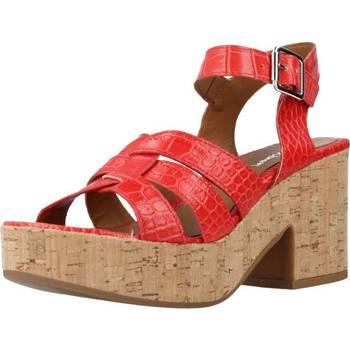 Schoenen Dames Sandalen / Open schoenen Alpe 4731 63 Rood