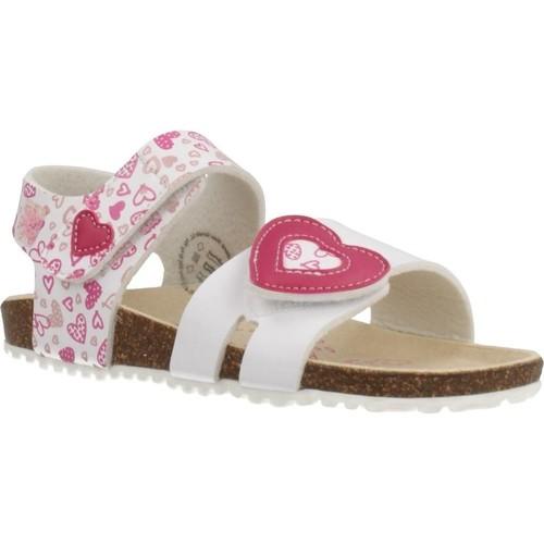 Schoenen Meisjes Sandalen / Open schoenen Garvalin 202661 Wit
