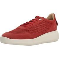 Schoenen Dames Sneakers Geox D RUBIDIA E Rood