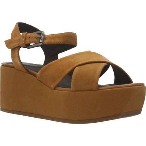 Schoenen Dames Sandalen / Open schoenen Geox D ZERFIE B Bruin