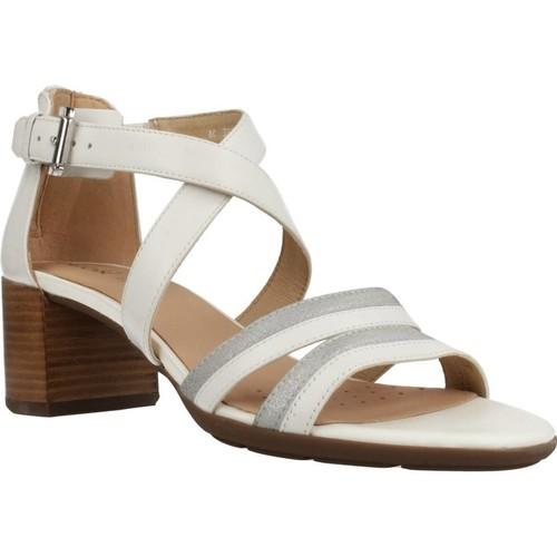 Schoenen Dames Sandalen / Open schoenen Geox D MARYKARMEN M.S. E Wit