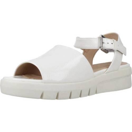 Schoenen Dames Sandalen / Open schoenen Geox D WIMBLEY SAND A Wit