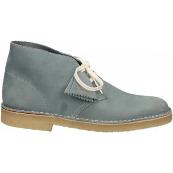 Schoenen Heren Laarzen Clarks DESERTBOOT M blue-grey
