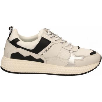 Schoenen Dames Lage sneakers Moa Concept FUTURA MESH white-silver