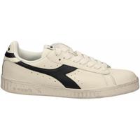 Schoenen Lage sneakers Diadora GAME L LOW WAXED c6180-bianco
