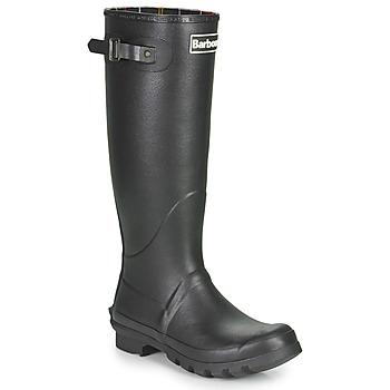 Schoenen Heren Regenlaarzen Barbour BEDE Zwart