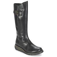 Schoenen Dames Hoge laarzen Fly London MOL 2 Zwart