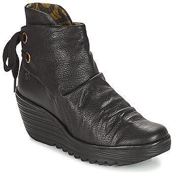 Schoenen Dames Lage sneakers Fly London YAMA Zwart