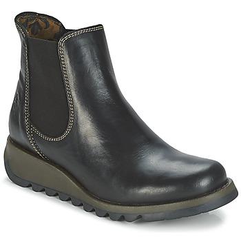 Schoenen Dames Laarzen Fly London SALV Zwart