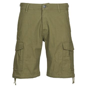 Textiel Heren Korte broeken / Bermuda's Jack & Jones JJIALFA Kaki