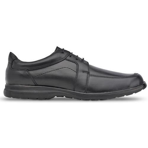 Schoenen Heren Derby Saguy's Comfortabele Saguys-werkschoenen voor heren NEGRO