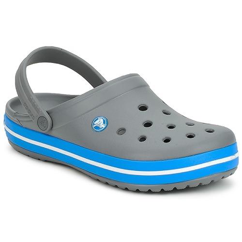 Schoenen Klompen Crocs CROCBAND Grijs / Oceaan