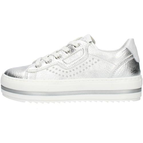 Schoenen Meisjes Lage sneakers NeroGiardini E031560F Silver
