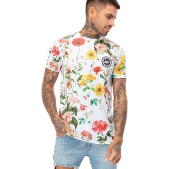 Textiel Heren T-shirts korte mouwen Hype  Wit
