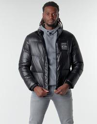 Textiel Heren Dons gevoerde jassen Armani Exchange 8NZBP2 Zwart