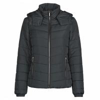 Textiel Dames Dons gevoerde jassen Armani Exchange 8NYB12 Zwart