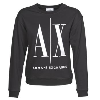 Textiel Dames Sweaters / Sweatshirts Armani Exchange 8NYM02 Zwart