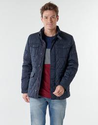 Textiel Heren Wind jackets Deeluxe BELIEVE Marine