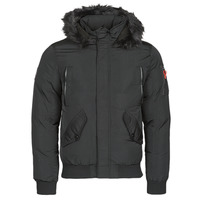 Textiel Heren Parka jassen Deeluxe SHARK Zwart