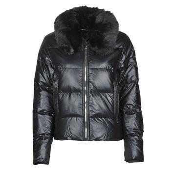 Textiel Dames Dons gevoerde jassen Deeluxe BLANDINE Zwart
