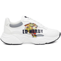 Schoenen Heren Lage sneakers Ed Hardy - Insert runner-tiger-white/multi Wit