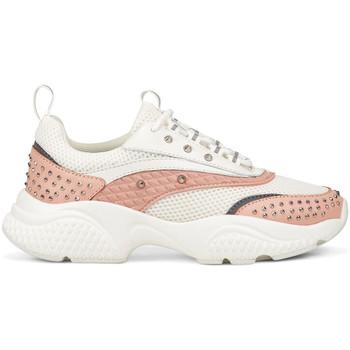 Schoenen Dames Lage sneakers Ed Hardy - Scale runner-stud white/pink Roze