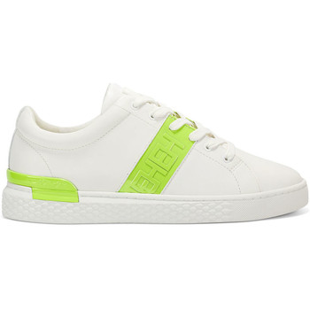 Schoenen Heren Lage sneakers Ed Hardy - Stripe low top-metallic white/lime Wit