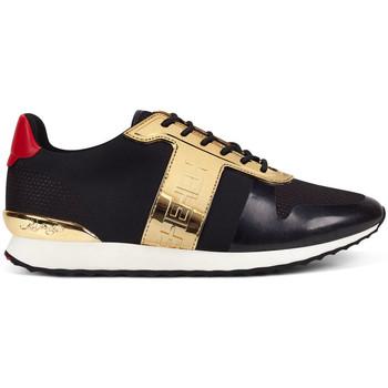 Schoenen Heren Lage sneakers Ed Hardy - Mono runner-metallic black/gold Zwart