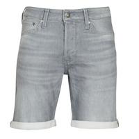 Textiel Heren Korte broeken / Bermuda's Jack & Jones JJIRICK Grijs