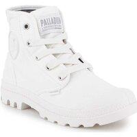 Schoenen Dames Hoge sneakers Palladium US Pampa HI F 92352-116-M white