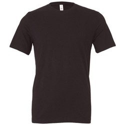 Textiel Heren T-shirts korte mouwen Bella + Canvas CA3001 Donker Grijs