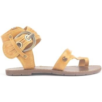 Schoenen Dames Sandalen / Open schoenen Chattawak Sandales 9-Pensée Yellow Geel