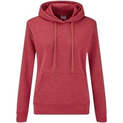 Textiel Dames Sweaters / Sweatshirts Fruit Of The Loom 62038 Heather Rood
