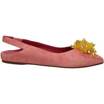 Schoenen Dames Ballerina's 181 GAROFANO CAMOSCIO rosa