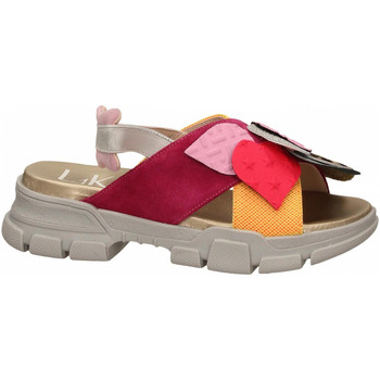Schoenen Dames Sandalen / Open schoenen L4k3 SANDAL PATCH fuxia