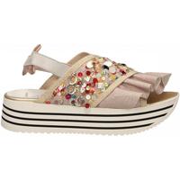 Schoenen Dames Sandalen / Open schoenen L4k3 SANDAL SUPER PAILETTES beige