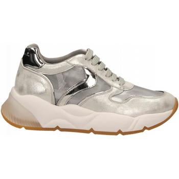 Schoenen Dames Lage sneakers Voile Blanche SHEELMESH argento-nichel