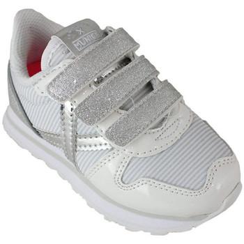 Schoenen Kinderen Lage sneakers Munich mini massana vco 8207375 Wit