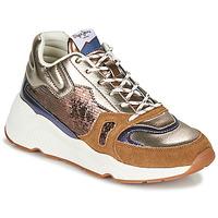 Schoenen Dames Lage sneakers Pepe jeans HARLOW SPACE Brons
