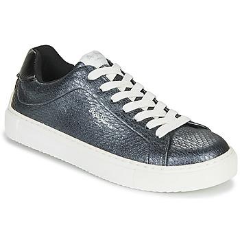 Schoenen Dames Lage sneakers Pepe jeans ADAM SNAKE Grijs