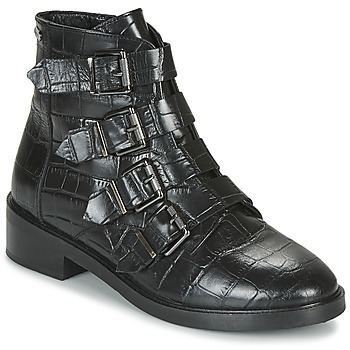 Schoenen Dames Laarzen Pepe jeans MALDON IMAN Zwart
