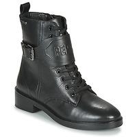Schoenen Dames Laarzen Pepe jeans MALDON LOGO Zwart