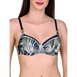 Textiel Dames Bikinibroekjes- en tops Lisca Buenos Aires  Armature Swimsuit Top Blauw