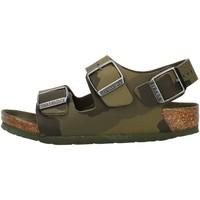 Schoenen Jongens Sandalen / Open schoenen Birkenstock 1014590 Green