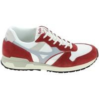 Schoenen Sneakers Mizuno Genova Blanc Rouge Wit